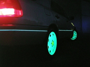 Бизнес идея: Светящиеся диски на авто