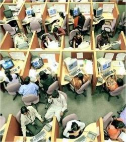 Как преодолеть стресс в офисе open space?