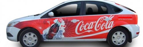 Бизнес идея: Рекламные наклейки на авто