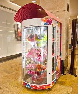 Бизнес идея: Цветочный вендинг