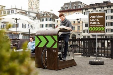 Велокафе в Цюрихе