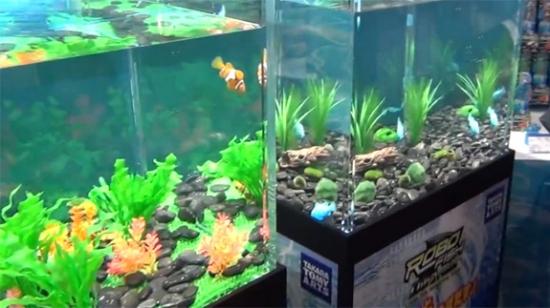 Интересное изобретение - рыбки-роботы