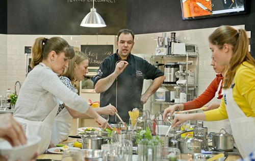 Открыть кулинарную школы