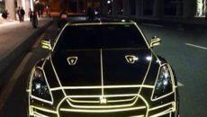 Светящиеся наклейки на авто