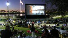 Уличный кинотеатр Open Cinema