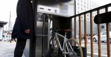 Автоматические подземные велопарковки