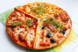 изготовление пиццы по эскизам клиентов