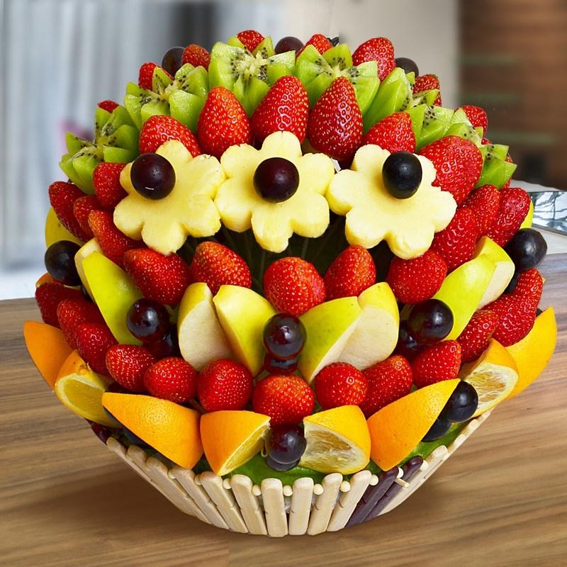 Торт из фруктов своими руками пошагово 618