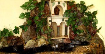 Производство декоративных комнатных фонтанов