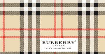 С чего начиналось Burberry