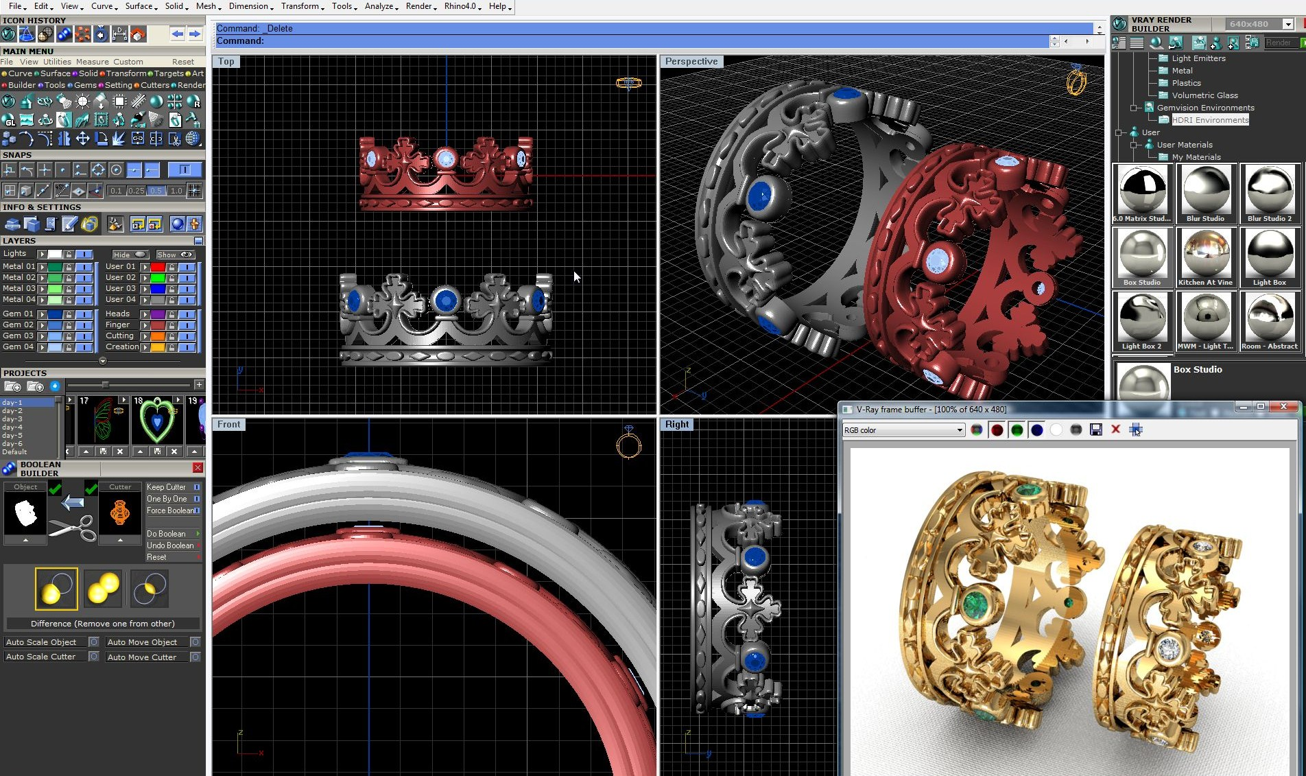 Программа для 3d моделирования ювелирных изделий