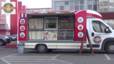 Мобильная кофейня на колесах